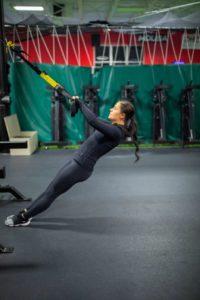 Razor Sharp Fitness Member Spotlight Leah Morris TRX